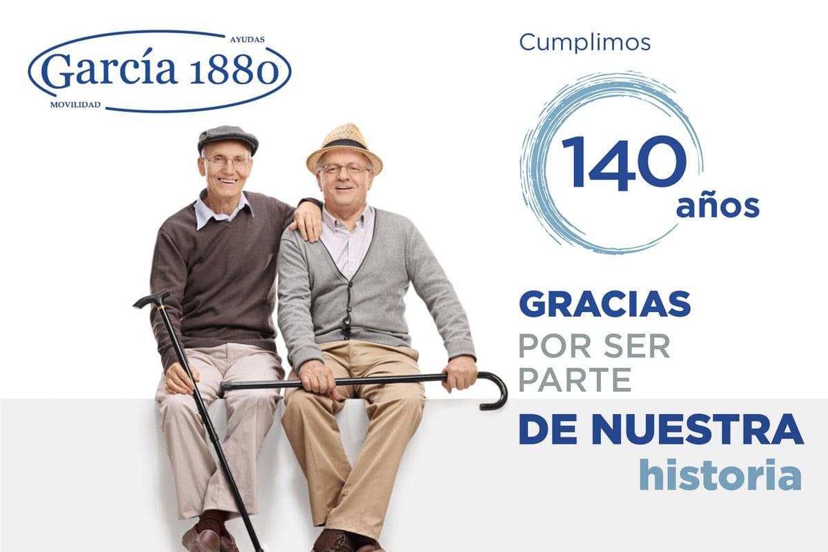 García 1880 cumple 140 años